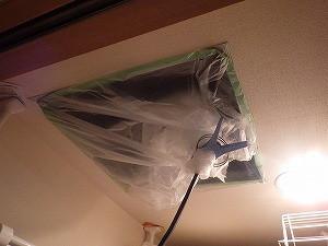天井裏殺菌殺虫処理