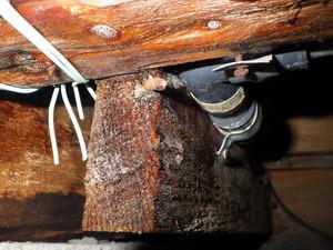配管からの水漏れ