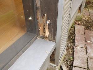 土間床構造でのシロアリ被害