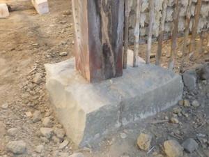 リフォーム中の古民家で確認されたシロアリ被害