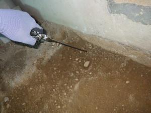 浴室解体時のシロアリ対策
