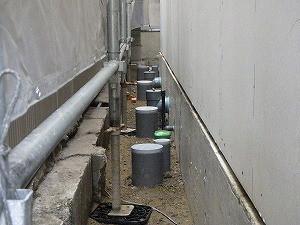 配管類も工夫されて設置されています