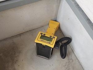 基礎外断熱面での非破壊シロアリ点検調査